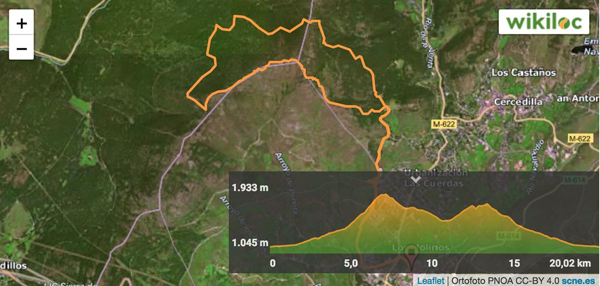 Los Molinos Nuevo Trail del circuito de Tactika Trail